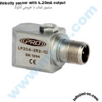 CTC-PRO Velocity Sensor With 4 to 20 mA Out Put Type : LP204-1R1-M12D
