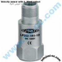 CTC-PRO Velocity Sensor With 4 to 20 mA Out Put Type : LP252-1R1